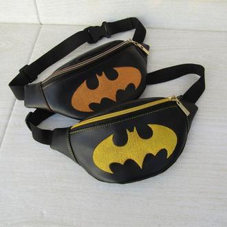 "Детская бананка для мальчика ""бэтмен"""