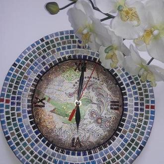 """Часы """"Мозаика"""""""