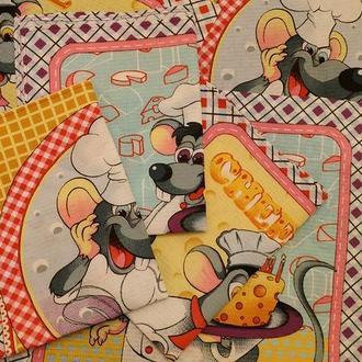 Набор вафельных полотенец Король-Мыш