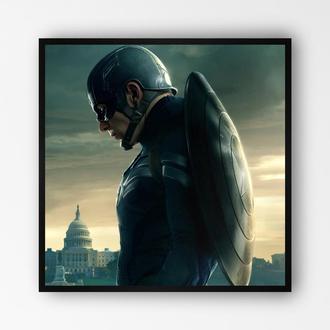 """Постер в рамке """"Captain America / Капитан Америка"""" #12"""