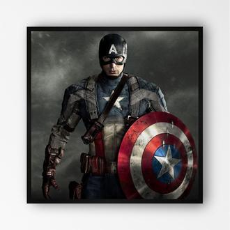 """Постер в рамке """"Captain America / Капитан Америка"""" #15"""