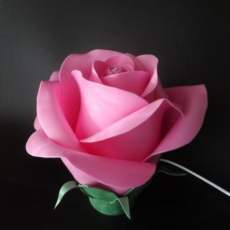 Светильник-роза