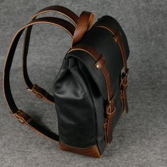 Рюкзак Hankle H1 Винтажная кожа цвет Черный