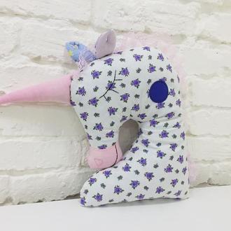 единорог подушка -мягкая игрушка для сна-подарки для девочек на день рожденья