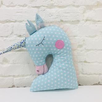 единорог подушка-детская игрушка для сна-подарки для девочек на день рожденья-подарки детям