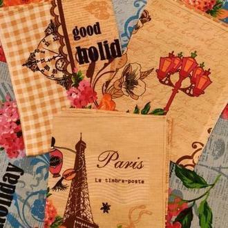 Набор вафельных полотенец Париж-Париж