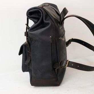 Рюкзак Hankle H42 Винтажная кожа цвет Черный
