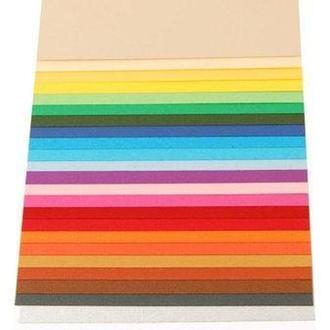 Бумага для дизайна А4 21*29,7cм Elle Erre 220г/м2 две текстуры 16F410**_белый (№00 bianco)