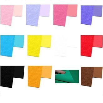 Фоамиран (китай) А4 (20*30см) Флексика EVA 2мм с флоком 89**_розовый яркий (8931)