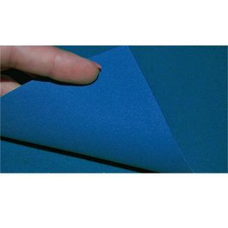Фоамиран (китай) А4 (20*30см) Флексика EVA 2мм с флоком 89**_синий (8939)