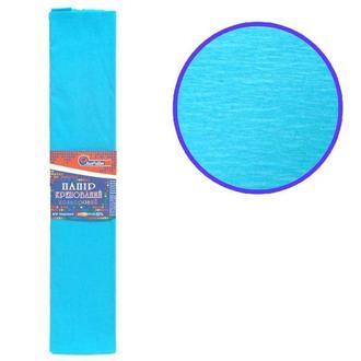 Бумага гофрированная креповая 55% 50*200см Josef Otten 55-80_серо-голубой (55-8033)