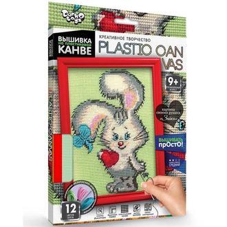 Набор для творчества DankoToys DT PC-01-07 вышивка на пластиковой канве