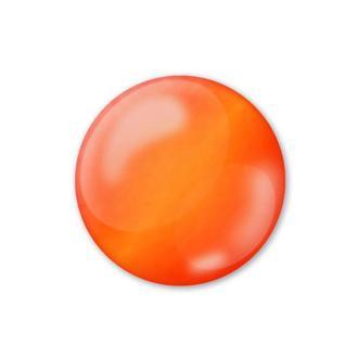 Контурная краска универс. с 3D эффектом жемчужин прозрачный Pentart 30 мл 338**_оранжевый (33843)