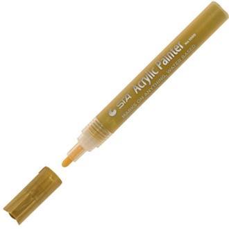 Маркер STA универсальный акриловый 1000 2-3мм_золото (STA1000-M01)