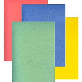 Картон цветной детский для поделок А5 Фолдер 9л. 235г/м 00014