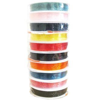 Резинка нить для бижутерии Korea Crystal Tec 0,5 мм 13 ярдов, цвет ассорти 1951