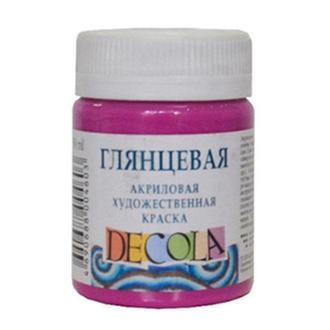 Краска акриловая - ЗХК Невская Палитра DECOLA 50мл глянц._бирюзовый (2928507)