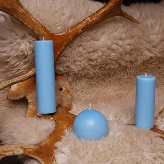 Свечи для игр с воском, EdgePlay, Голубой