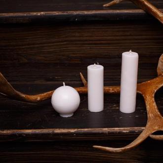 Свечи для игр с воском, EdgePlay, Белый