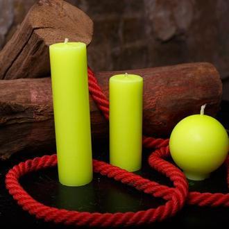 Свечи для игр с воском, EdgePlay, Желтый ультрафиолетовый