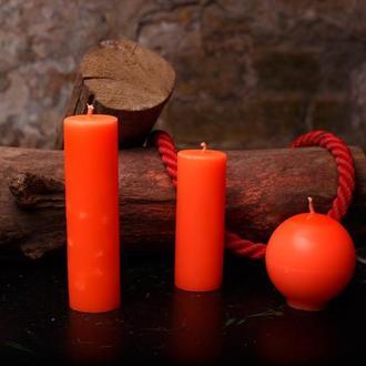 Свечи для игр с воском, EdgePlay, Оранжевый ультрафиолетовый
