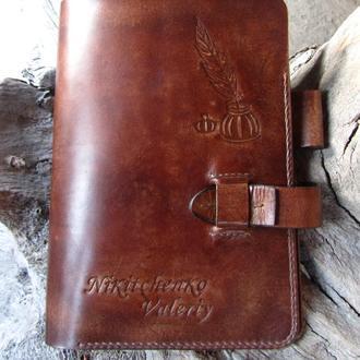 чехлы для ноутбука из кожи,чехол кожаный,папка-чехол для ноутбука,подарок шефу