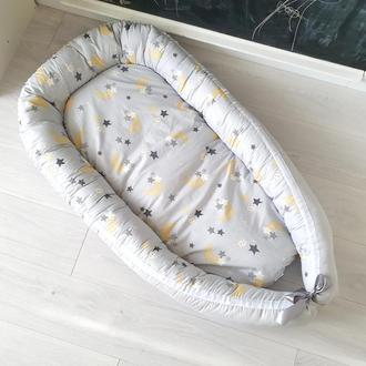 Кокон для ребенка (гнездышко, бебинест) Stars & Moon