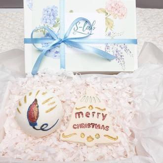 Новорічний подарунковий набір косметики
