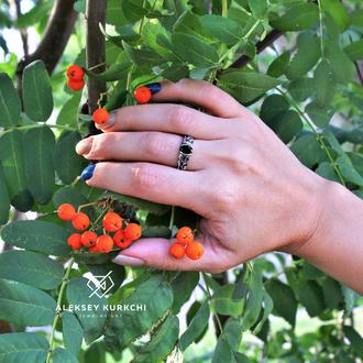 """Оригинальное кольцо """"Цвет камня"""""""