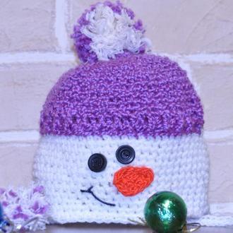 Детская шапочка отличный подарок к праздникам!