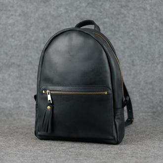 Рюкзак Лимбо, размер средний Винтажная кожа цвет черный