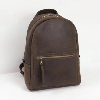Рюкзак Лимбо, размер большой, Винтажная кожа цвет шоколад