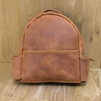 Рюкзак Модель №69 Винтажная кожа цвет коньяк