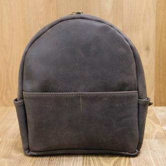 Рюкзак Модель №69 Винтажная кожа цвет шоколад