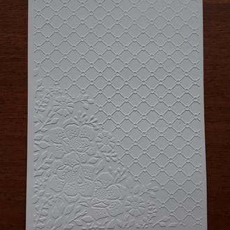 Тисненная бумага для творчества, скрапбукинга