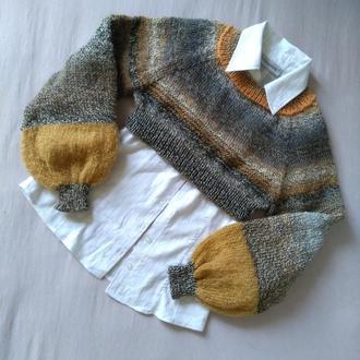 Укороченный пуловер кроп-пул
