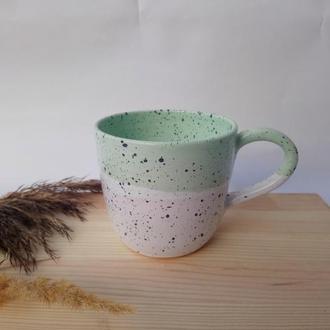 """Чашка керамічна """"М'ята"""", 400 мл"""