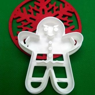 Пресс-форма для печенья(пряника) Пряничный мальчик, шт, пластик
