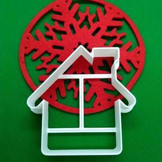 Пресс-форма для печенья(пряника) Домик, шт, пластик