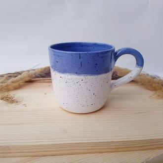 "Чашка керамічна ""Лаванда"", 400мл"