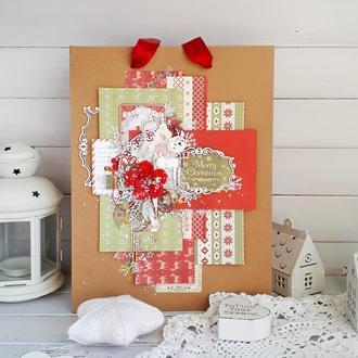 Новогодний подарочный пакет