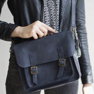 Женская кожаная сумка-трансформер