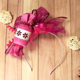 Обруч, ободок, корона Конфетки, Конфеты, Цукерки для карнавального костюма