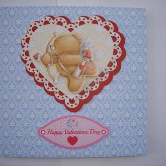 Валентинка на День Валентина