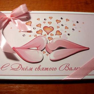 """Шоколадный набор """"Сладкий поцелуй"""""""