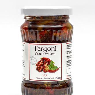 """В'ялені томати """"Hot"""" TM Targoni 170 г. Вяленые помидоры!"""