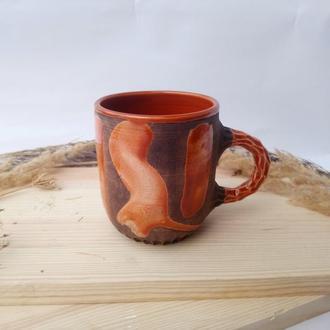 "Чашка керамічна ""Контраст"", 380 мл"