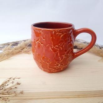"""Чашка керамічна """"Orange"""", 380мл"""