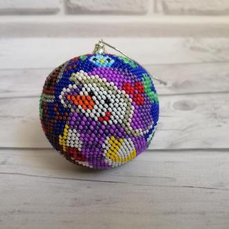 Новогодний шар на ёлку