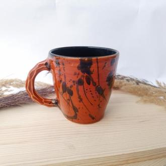 """Чашка керамічна """"Orange"""", 350мл"""